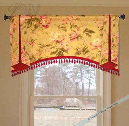 Valance Idea Style Only Different Fabric And Trim