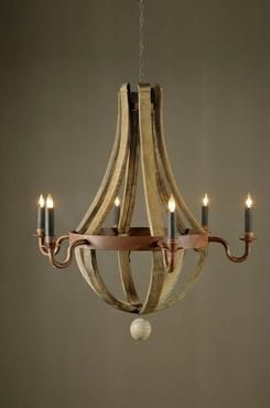 Cheap to chic wood and wine barrel chandeliers french oak cococozy cheap to chic wood and wine barrel chandeliers aloadofball Gallery