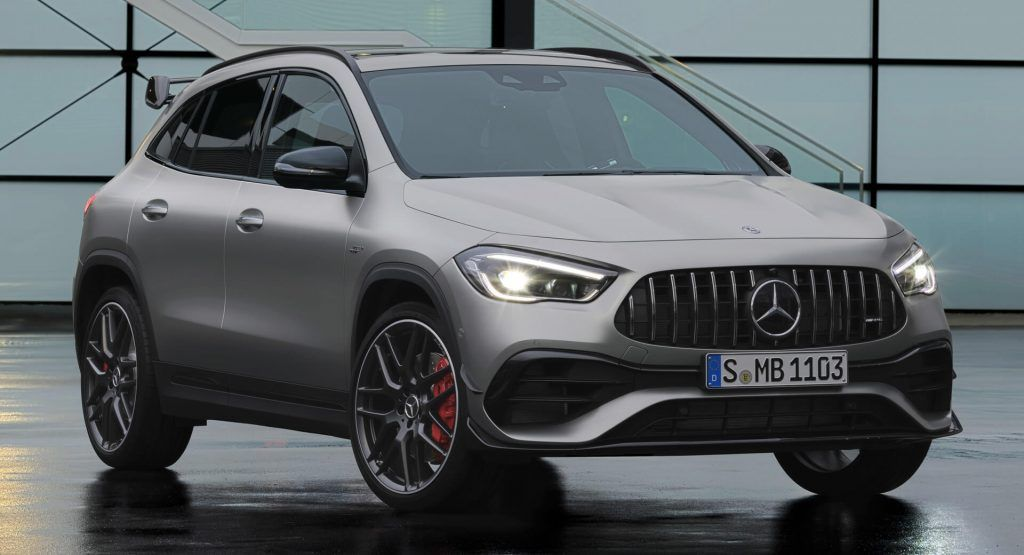 2021 Mercedes Amg Gla 45 Is A 382 Hp Hot Hatch Pretending To Be An