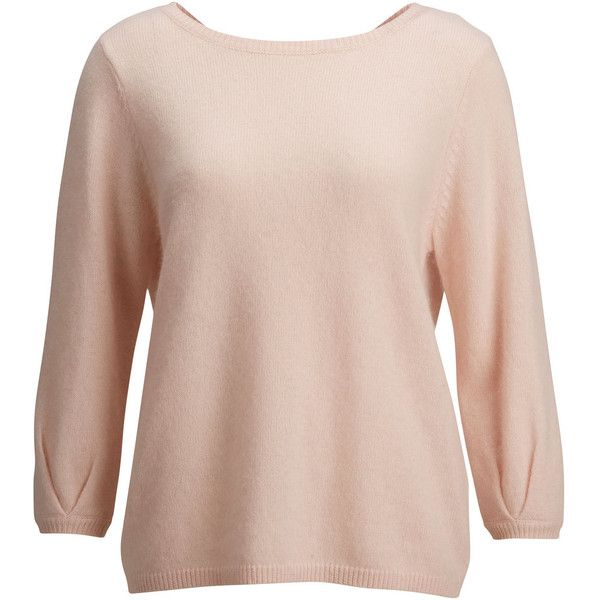 Selected Sfnova - Angora Pullover ($78) found on Polyvore featuring mens, men's clothing, men's sweaters, tops, sweaters, pullover, shirts and peach blush