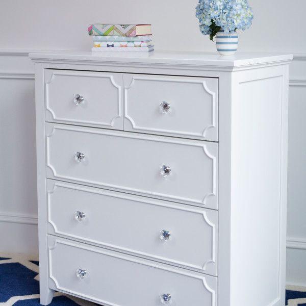 Charleston Elegant Curved Girls Storage Bed White Finish Future