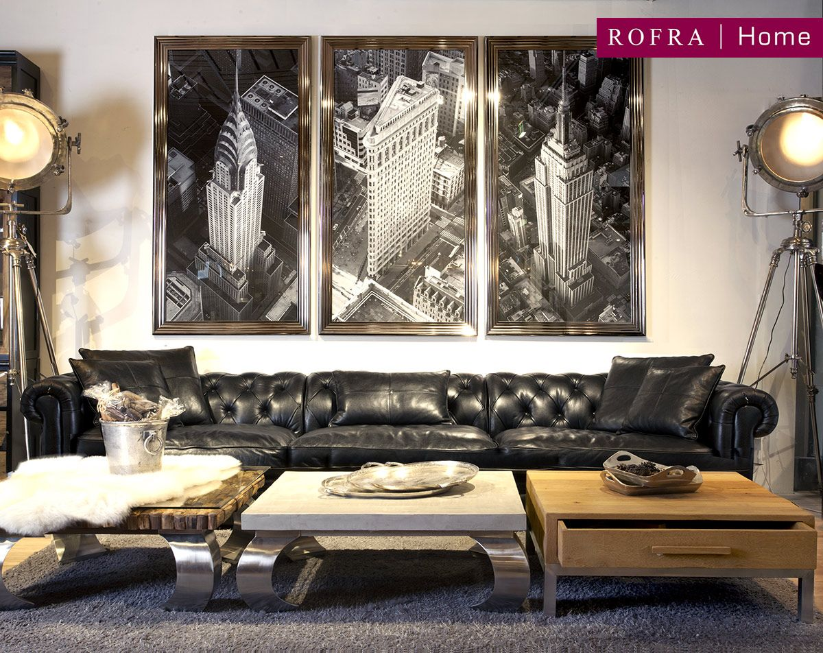 Rofra Sessel Wohnzimmer Rofra Home New York Living Room