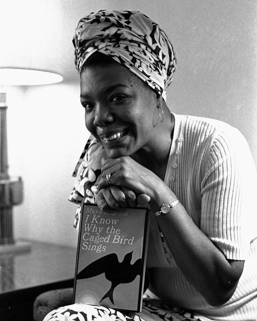 """Maya Angelou's classic memoir, """"I Know Why the Caged Bird"""