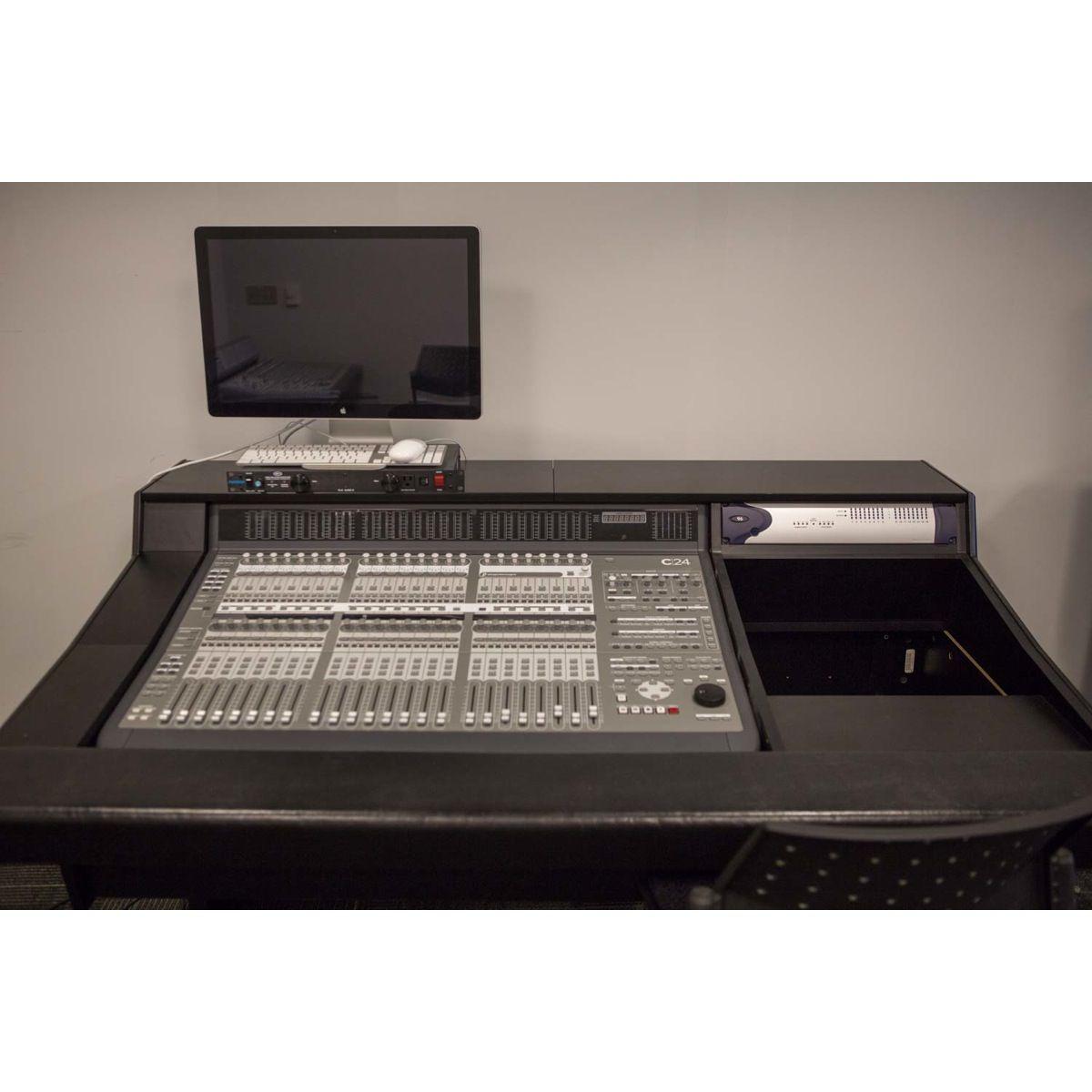 Avid c24 with argosy desk used sonic circus pro