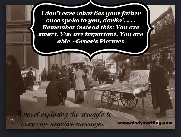 Like it? Please share. A line from my novel Grace's Pictures. www.cindyswriting.com