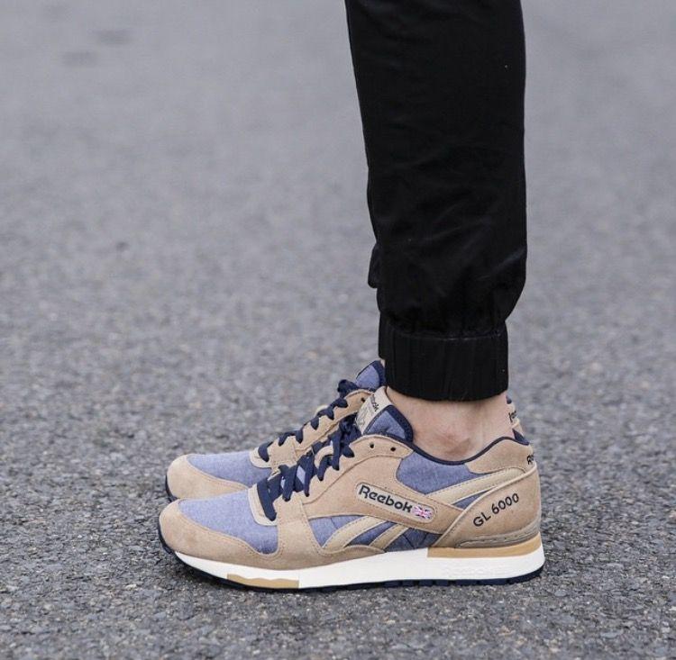 Reebok Gl 6000 Ch Walnut Navy Saucony Sneaker Sneakers Reebok