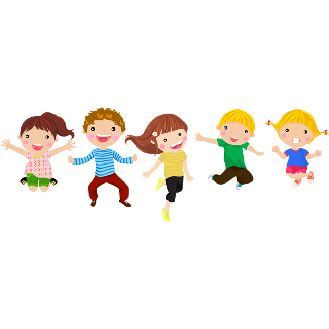 Happy Children Happy Kids Cartoon Posters Cartoon Clip Art