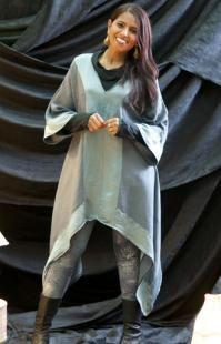Silk Robe Tunic - Celebration