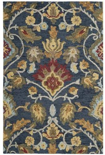 Elford Hand Tufted Wool Blue Red Green Area Rug In 2018 Products