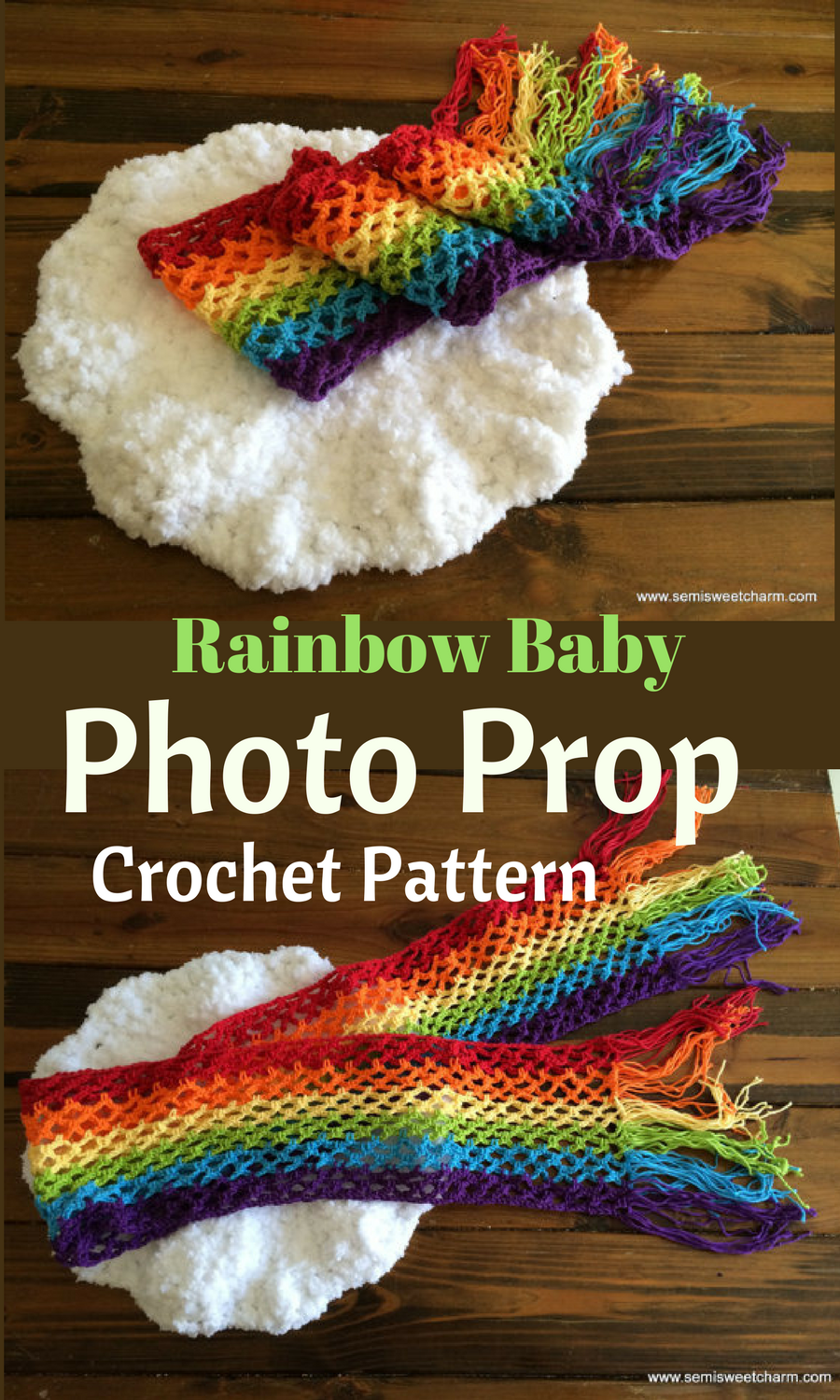 Perfect photo prop for my rainbow baby! Wrap baby in the ...