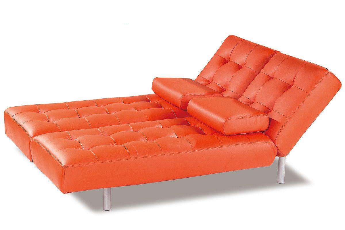 Orange Sleeper Sofa   Sessel   Sofa bed, Orange sofa ...