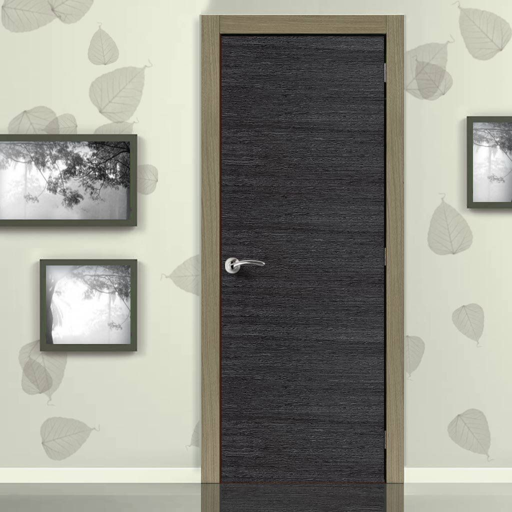 Doors & Eco Colour Grigio Ash Grey Flush Door is Pre-finished | Flush ... pezcame.com