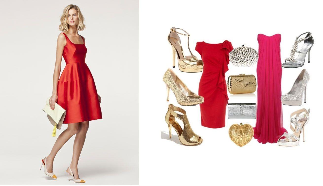 3440c139c9886 Complementos para vestido rojo