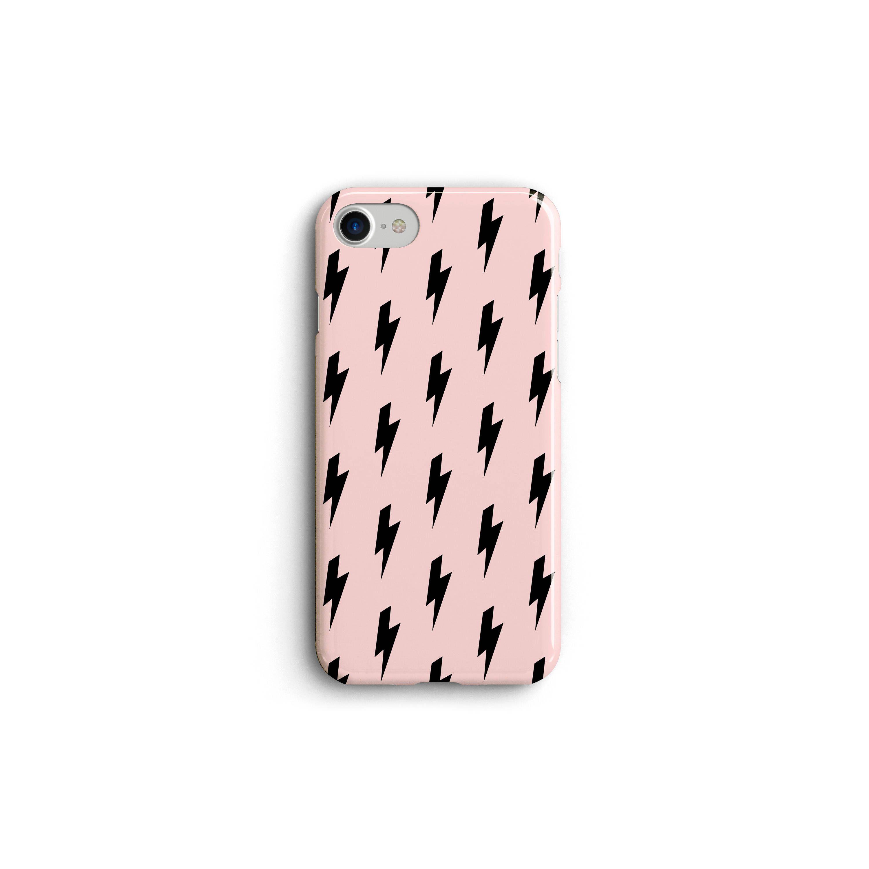 uk availability c37da 78ffd Lightning Bolt Phone Case, iPhone 6 7 8 X Case, Galaxy S5 S6 S7 S8 ...