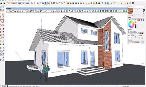 Sketchup Application Has Become A Household Name In The 3d Designing Everyone With An Imaginative Spree Loves This Applic Home Design Plan House Design Design