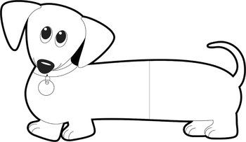dog clip art dachshund dog wiener dog sausage dog wiener dogs rh pinterest com weiner dog clip art dachshund Window Flower Boxes Clip Art