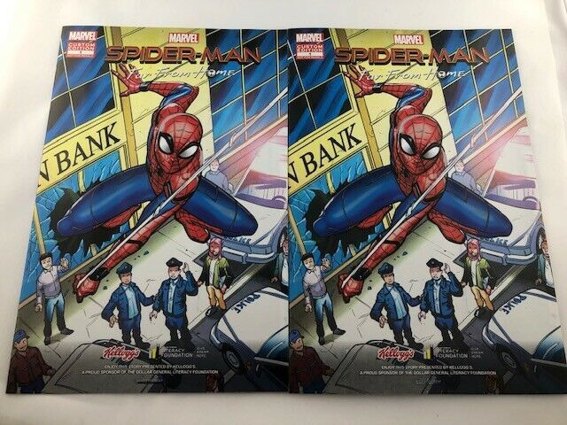 Spider-Man Far From Home Dollar General Kellogg/'s Exclusive Comic Book