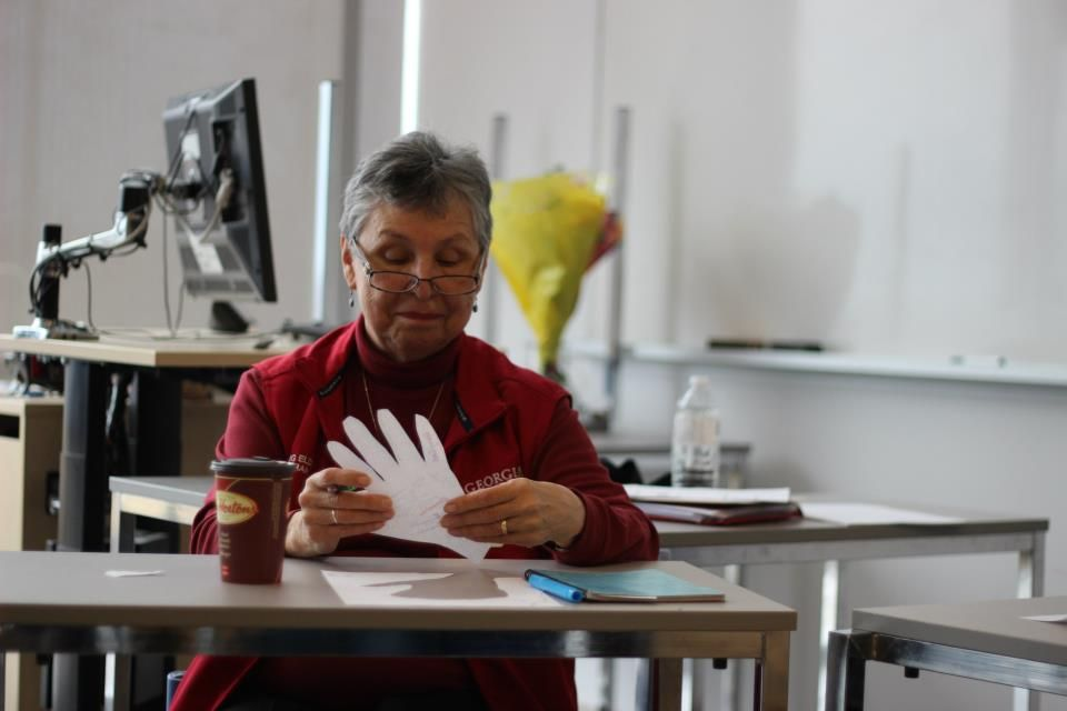 Georgian College Aboriginal studies elder and first speaker language teacher Ernysting
