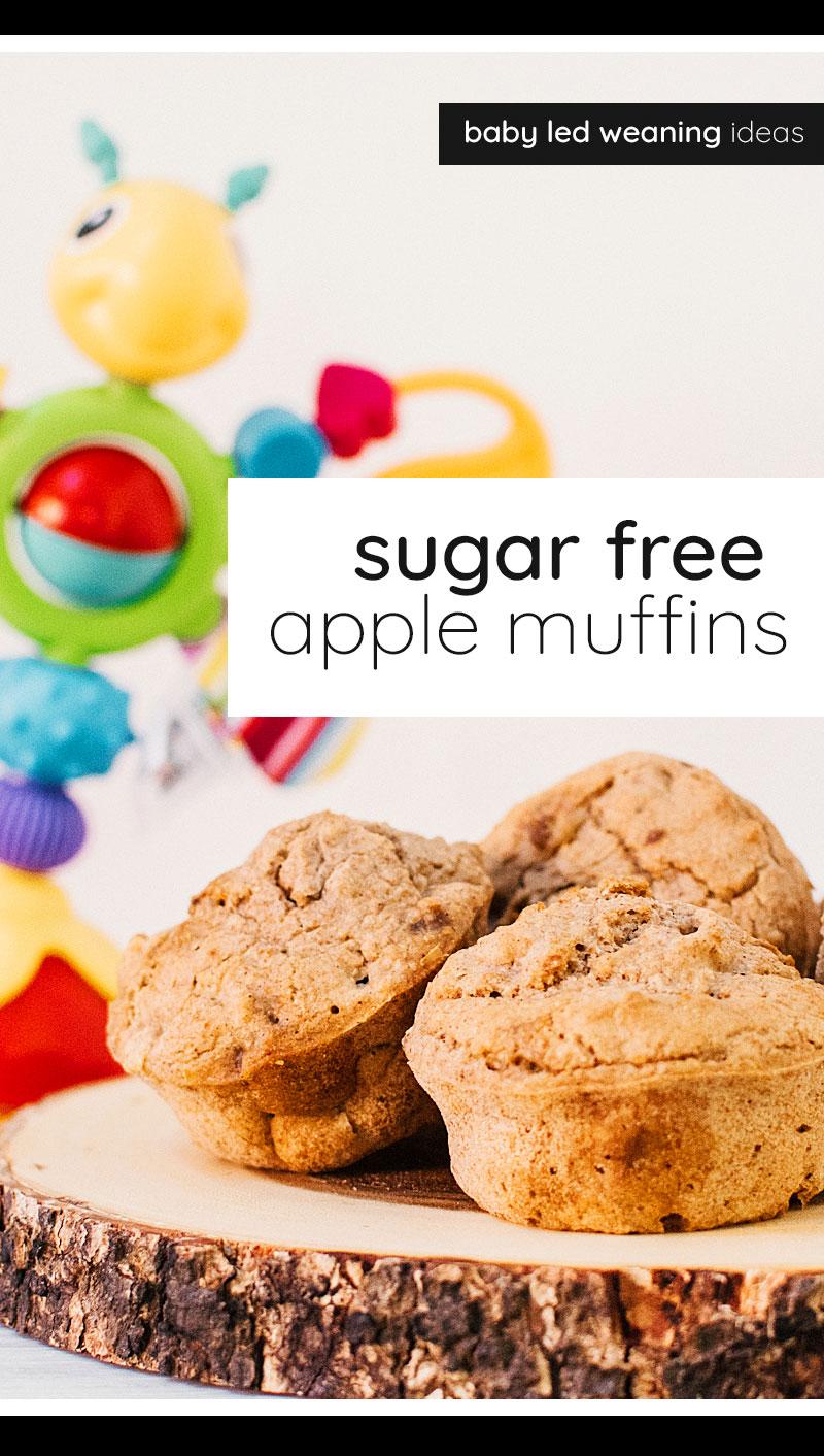 Vegan Sugar Free Apple Muffins In 2020 Sugar Free Recipes Uk Sugar Free Apple Muffins Apple Muffins