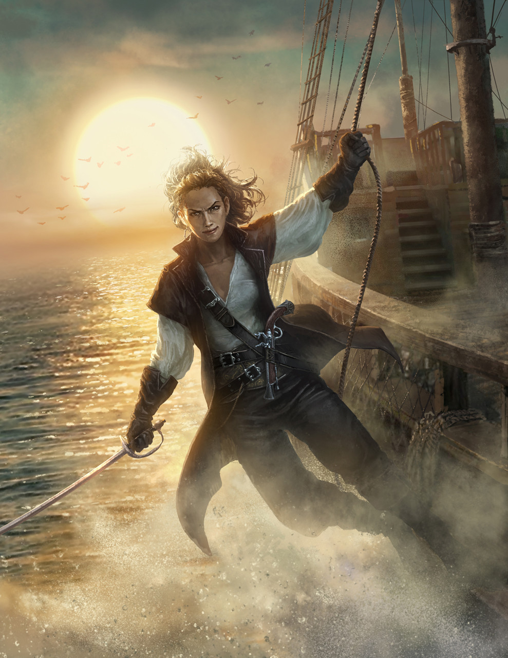 картинка храбрый пират бороться