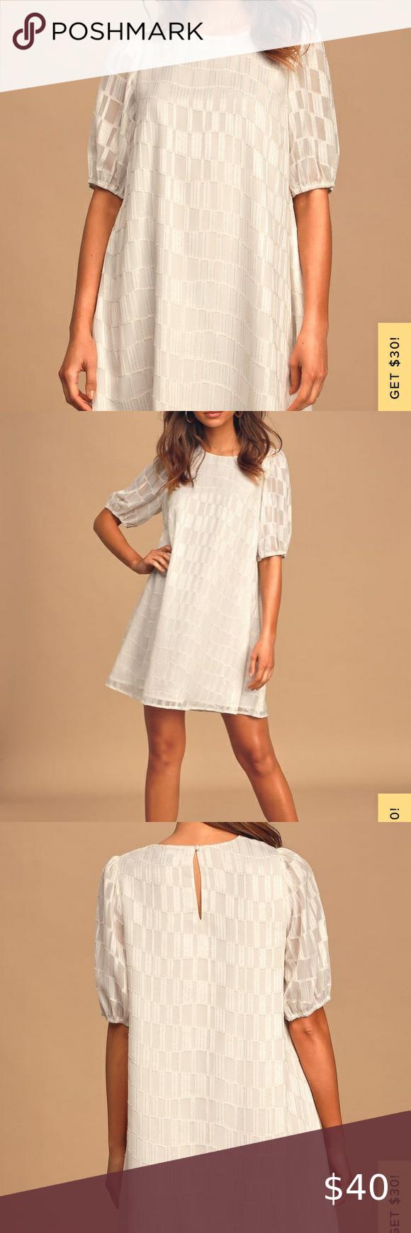 White Shift Dress In 2020 White Shift Dresses Shift Dress Clothes Design [ 1740 x 580 Pixel ]