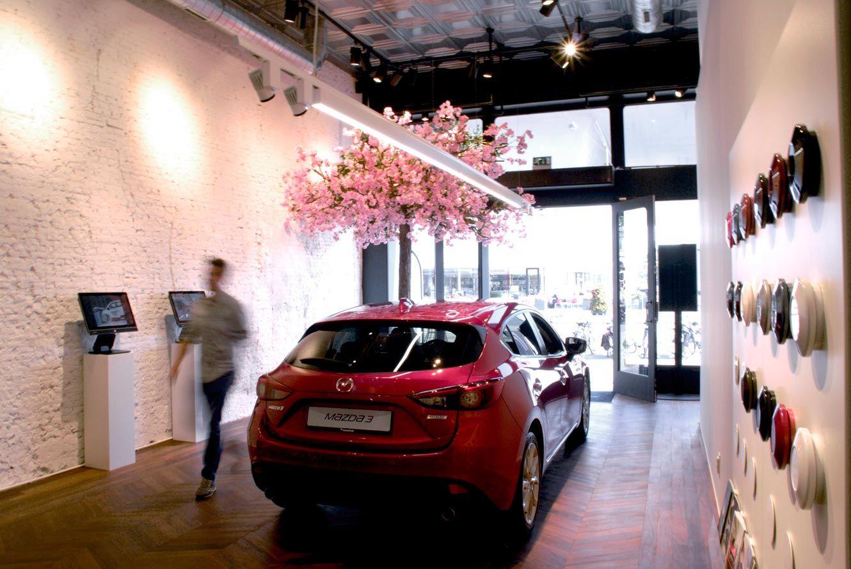 Mazda Garage Rotterdam : Mazda pop up « bisset adams bisset adams retail mazda pop