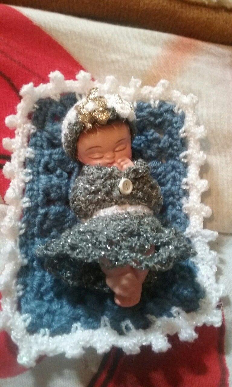 Crochet  ropa de niño dios mini