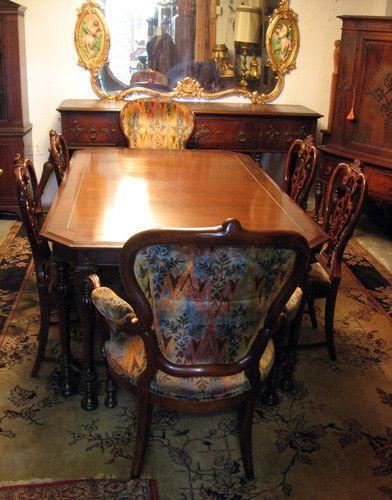 1930s Mahogany Dining Room Set