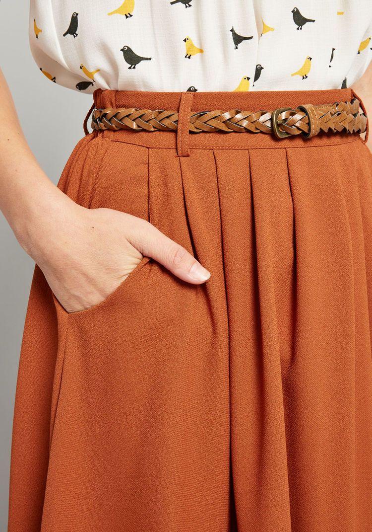 01cbe40ba5 Breathtaking Tiger Lilies Midi Skirt | StitchFix | Midi skirt outfit ...