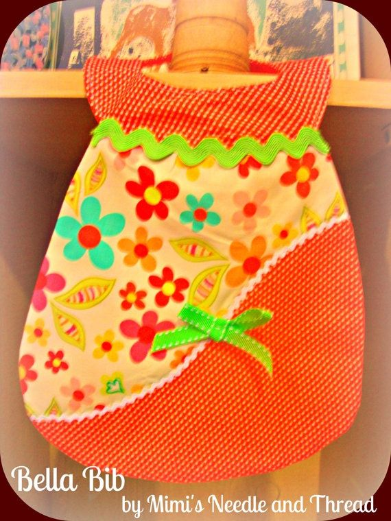 The Bella Bib a boutique quality bib without the by mimisneedle