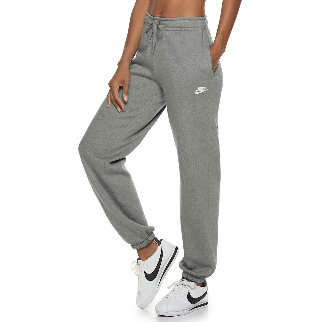 nike sweats gray