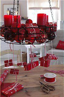 Dieser Adventskranz Kann Immer Wieder Anders Dekoriert Werden. Seine Vier  Kerzenhalter Können Abgenommen Werden. WeihnachtenCar MöbelEs Weihnachtet  ...