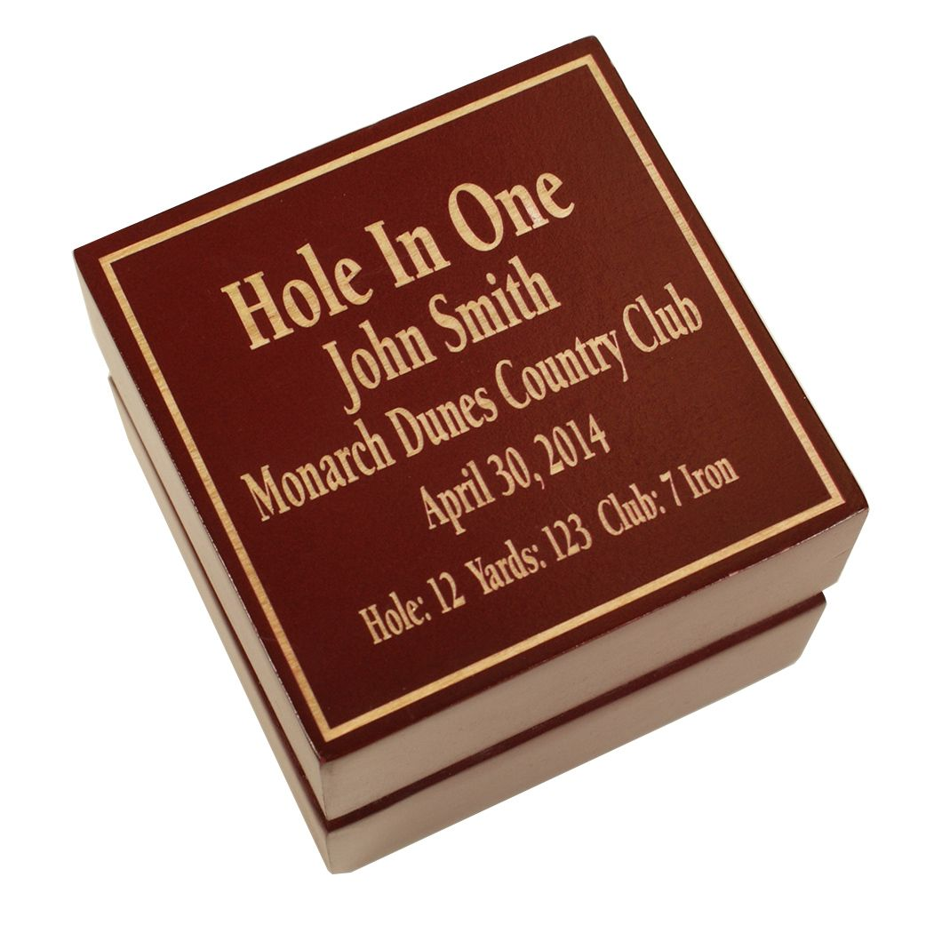 Great Golf Memories Hole In One Shadow Box Display Boxes