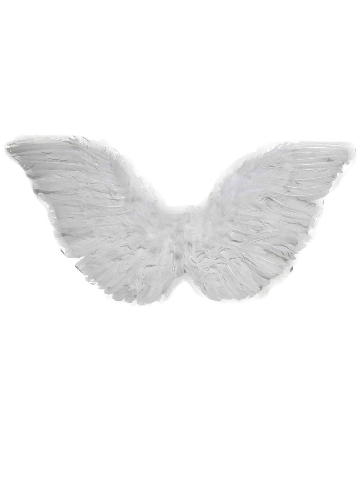 Small Mini Club White Feather Angel Wings Womens Costume Accessory