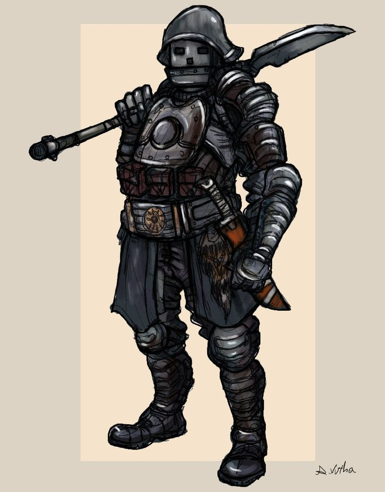 The Ripper - Bounty Hunter 02 by TheLivingShadow.deviantart.com on @DeviantArt