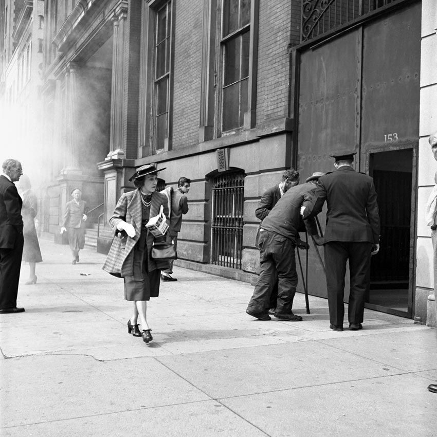 Happened Upon The First Show Of Vivian Maier S Street Photography