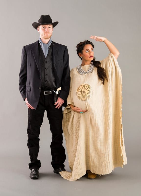 9657fcf1aef05 Maternity costume! Westworld Man in Black and THE MAZE | Costumes ...