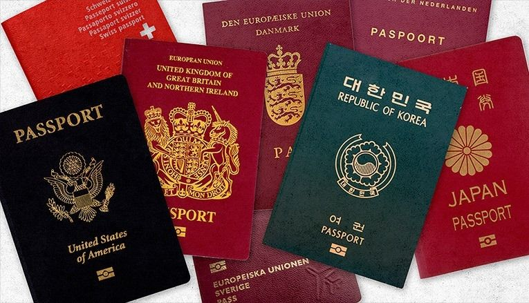 image being cropped (With images) Passport, Passport