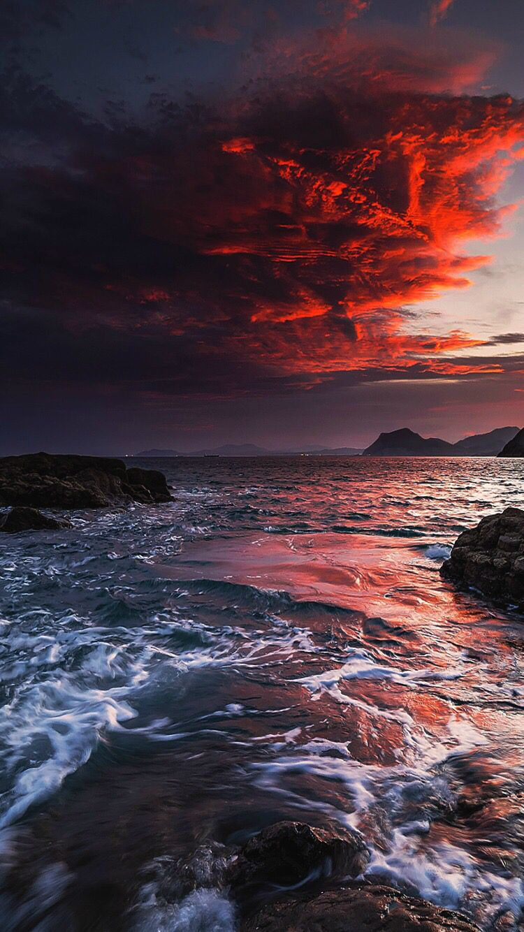 Ocean Sky Background Beautiful Landscapes Nature Photography Nature