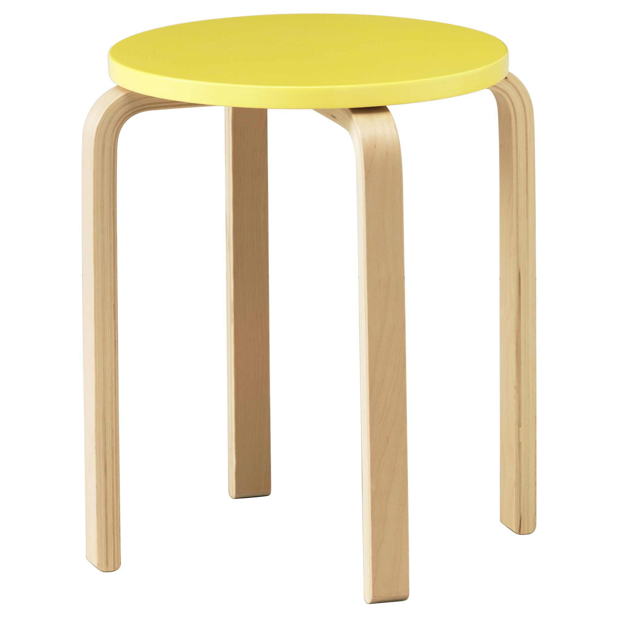 IKEA FROSTA Stool The stool can be stacked so you can keep several on hand and store them in the same space as one Need space