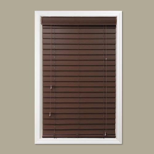 window images 2 faux wood blind 48