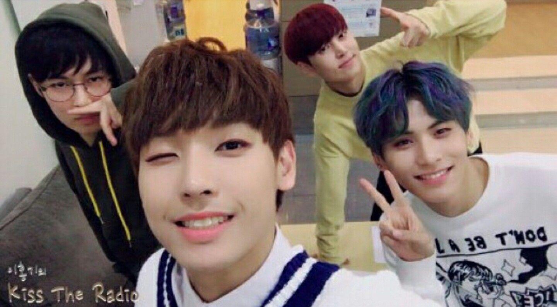 Dawon, Inseong, Jaeyoon & Taeyang // SF9