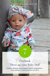 Freebook  quotDress up your Baby Dollquot  Dwarf Nose Design  Doll Clothes Simply   Freebook  Dress up your Baby Doll  Dwarf Nose Design  Doll Clothes Simply   Freebooks