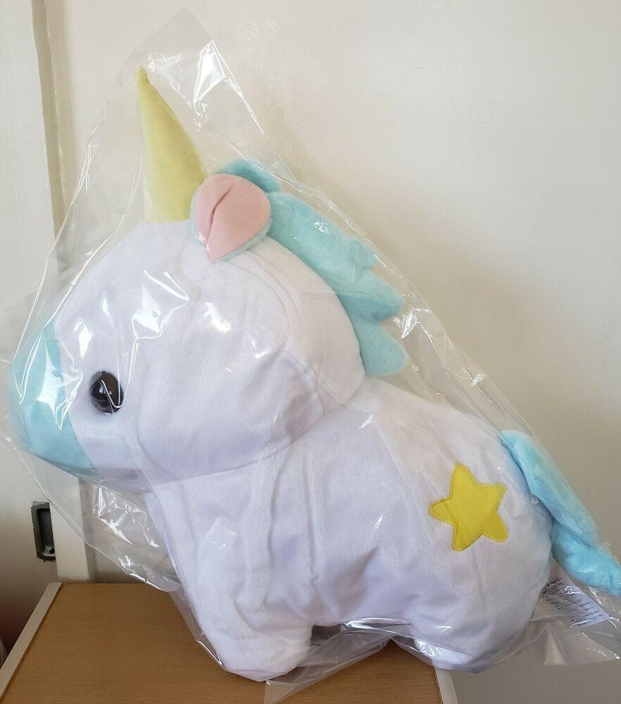 Details about Amuse Yumekawa Pocket Zoo Big Pink Unicorn