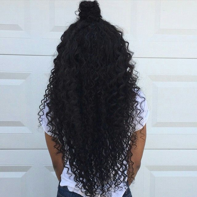 Eurasian curly with closure this hair is thick and full of body know SHEDDING or tangling. She is wearing 12 closure 14'16'18'..Our bundles start at 75$....  get a huge discount when using promo code FABHAIR2015 #bundles #summertime#greathair#