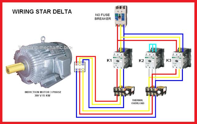 star delta motor connection diagram | elec eng world
