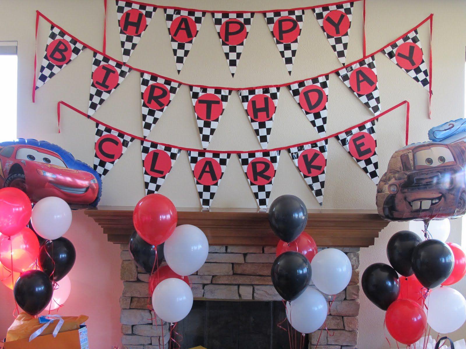 mcqueen birthday party ideas