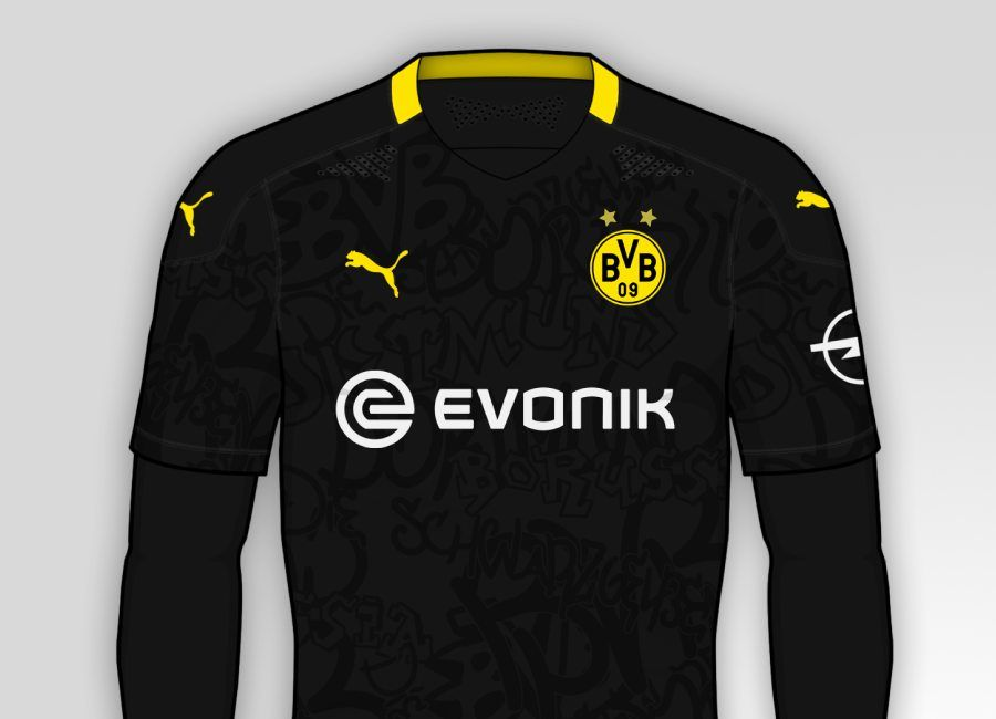 Borussia Dortmund 2020 21 Away Kit Prediction Borussiadortmund Bvb Echteliebe Borussia Dortmund Dortmund Soccer Tshirts