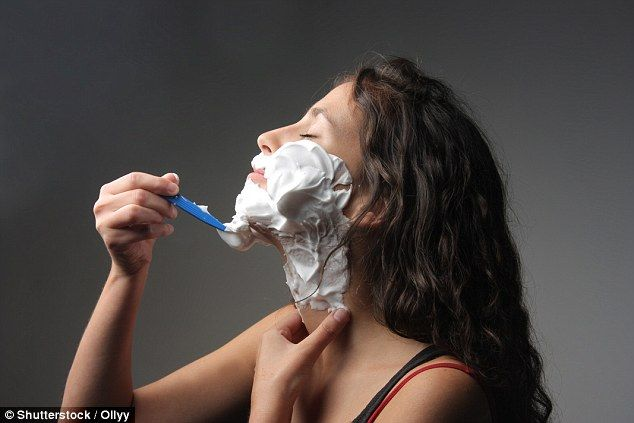 Should every woman SHAVE her face? | Woman shaving, Face