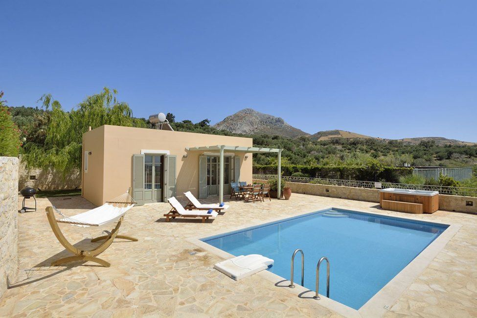 Villa Lemonia op ZuidKreta Villa's Ross Holidays in